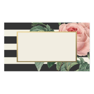 Botanical Glamour | Wedding Place Cards Pack Of Standard Business Cards