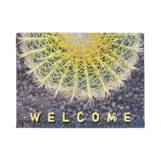 Botanical Globe Cactus Needles Photo Doormat
