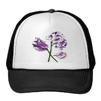 Botanical hats floral design