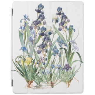 Botanical Iris Flowers Floral Garden Ipad Cover