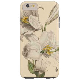 Botanical Lily Flowers Floral Garden Tough iPhone 6 Plus Case
