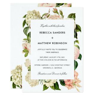Botanical Modern Wedding Invitation