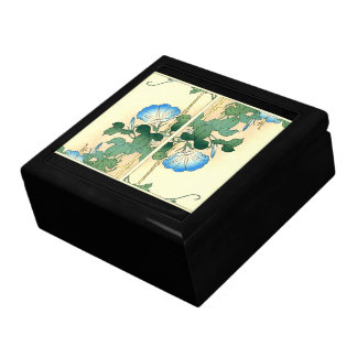 Botanical Morning Glory Flowers Floral Gift Box