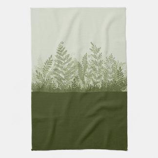 Botanical Plant Illustration Kitchen Towel