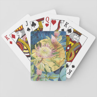 Botanical Playing Cards - Protea Cynaroides