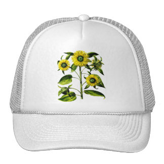 Botanical Sunflowers Cap