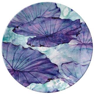 Botanical Surrealism Porcelain Plate