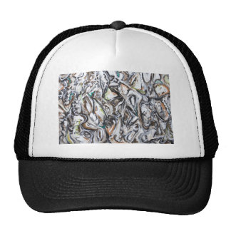 Botanical Wars abstract plant pattern Trucker Hat