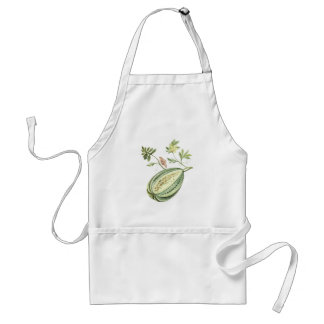 Botanical Watermelon Butterfly Insect Fruit Apron