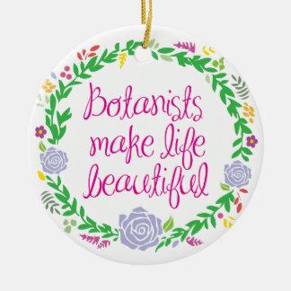 Botanist Ceramic Ornament