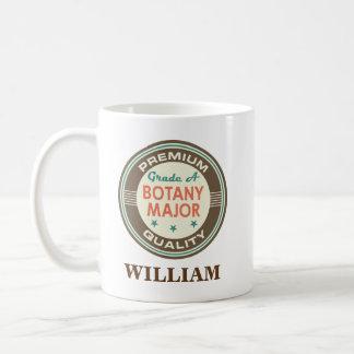 Botany Major Personalized Office Mug Gift