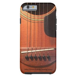 BOTCHY BOTCHY PHONE CASE (old guitar)