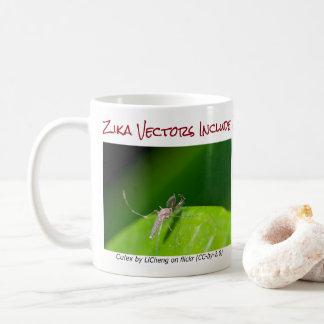 Both Are Zika Vectors Mug by RoseWrites