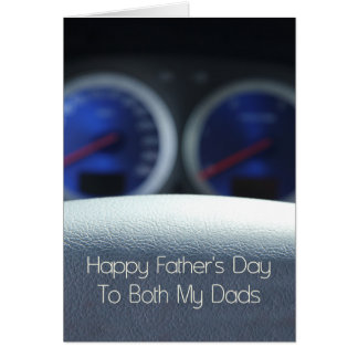 Both Dads Happy Father's Day Greeting Card