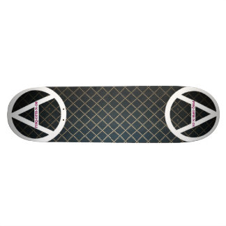 both ends by j3ll3yboards 21.6 cm old school skateboard deck