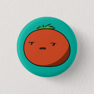 Bothered Tomato 3 Cm Round Badge