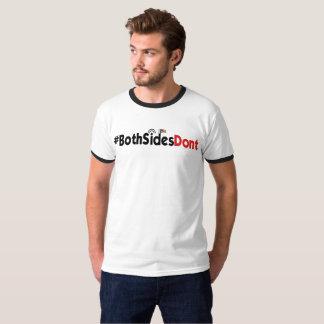#BothSidesDont - Men's Basic Ringer T-Shirt