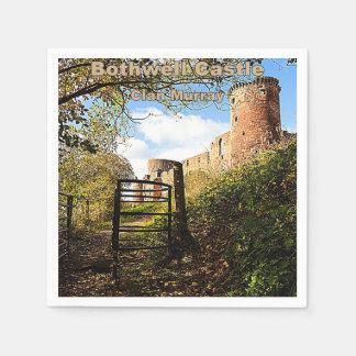 Bothwell Castle -- Clan Murray Disposable Serviette