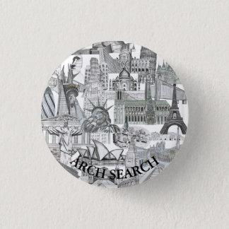 Bóton 3,2cm Mural Arch Search 3 Cm Round Badge