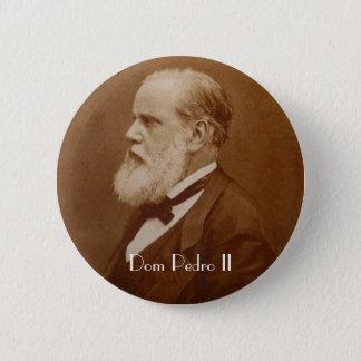 Boton Dom Pedro II 6 Cm Round Badge