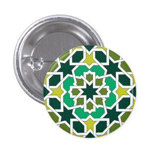 Botón mod Alhambra Arabesco de Marruecos Pin