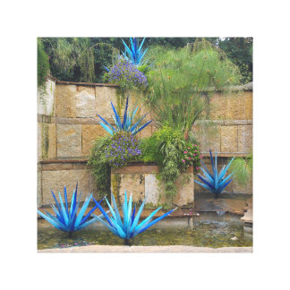 Botonical Gardens canvas art Canvas Print