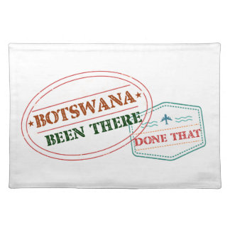 Botswana Been There Done That Placemat