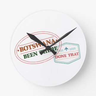 Botswana Been There Done That Wall Clocks