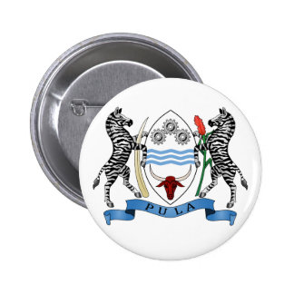 Botswana Coat of Arms Button