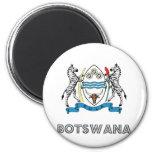 Botswana Coat of Arms Fridge Magnet