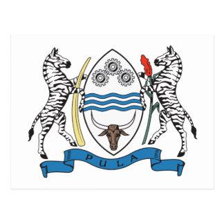 Botswana Coat of Arms Postcard