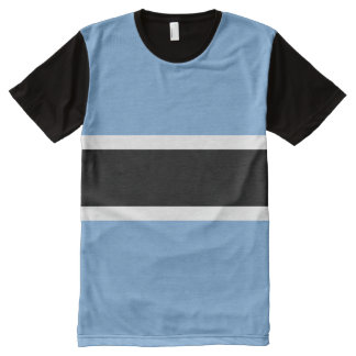 Botswana Flag All-Over Print T-Shirt