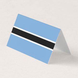 Botswana Flag Business Card