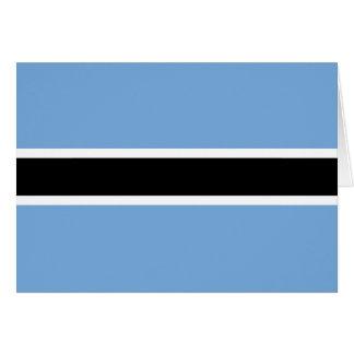 Botswana Flag Greeting Cards