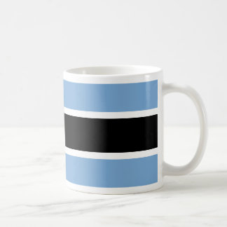 Botswana flag coffee mug