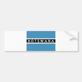 botswana flag country schweiz text name bumper sticker