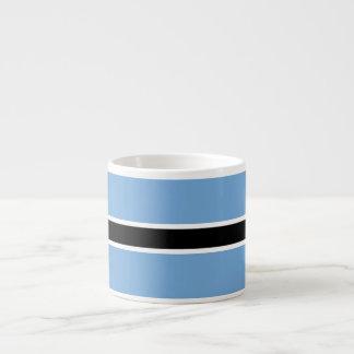 Botswana Flag Espresso Cup