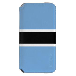 Botswana Flag Incipio Watson™ iPhone 6 Wallet Case