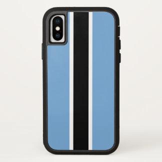 Botswana Flag iPhone X Case