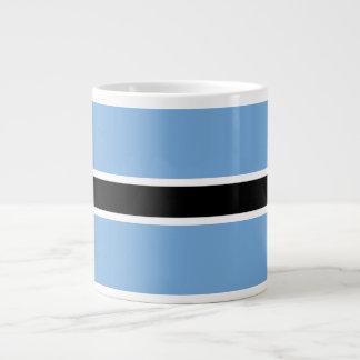Botswana Flag Large Coffee Mug