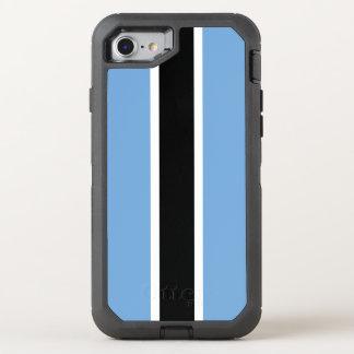 Botswana Flag OtterBox Defender iPhone 8/7 Case
