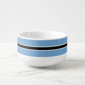 Botswana Flag Soup Mug
