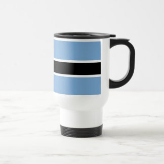 Botswana flag travel mug