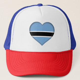 Botswana Flag Trucker Hat