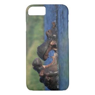 Botswana, Moremi Game Reserve, Hippopotami iPhone 7 Case