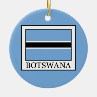 Botswana Round Ceramic Decoration