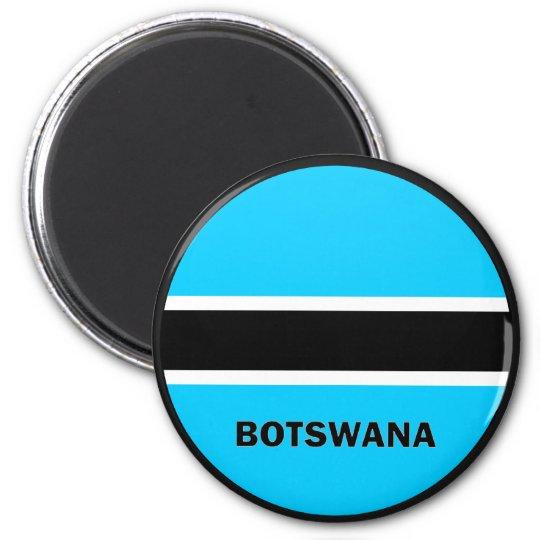 Botswana Roundel quality Flag Magnet