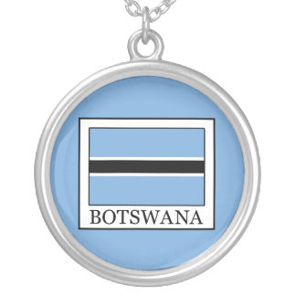 Botswana Silver Plated Necklace