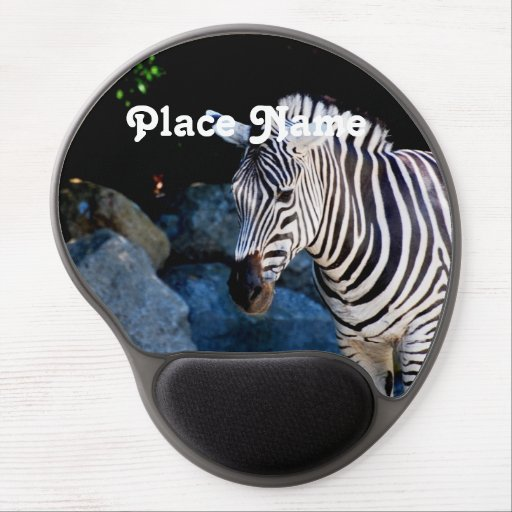 Botswana Zebra Gel Mousepad