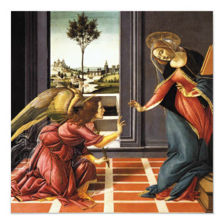 Botticelli Annunciation Invitations